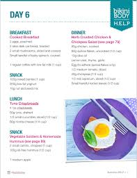 Isagenix Meal Chart How To Meal Prep For Beginners Kayla Itsines