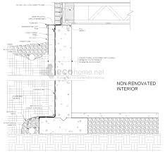 basement wall design. Exterior Basement Insulation Diagram Wall Design H