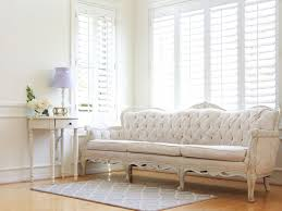 Provincial Living Room Furniture Shabby Chic French Provincial Vintage Long Sofa Couch No339