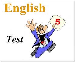 Контрольная работа по английскому языку с ответами