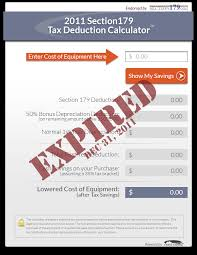 Section 179 Tax Deduction Official 2019 Calculator Crest