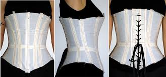 Corset Pattern Delectable More Muslins Corsetmakers