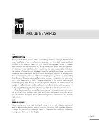 Bridge Bearing Design Guide 10 Bridge Bearings Design Guide For Bridges For Service