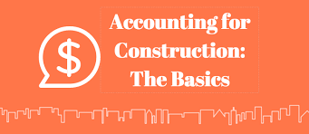 Standard Chart Of Accounts For Construction Company Construction Accounting 101 Everything You Need To Know Esub