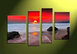 beach scene canvas prints picture library art free beach scene needlepoint canvas plants