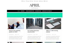 Style Template 40 Latest Free Grid Style Blogger Templates 2019 Css Author