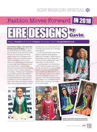 Instagram Eire Designs Design Houses 2018 Irish Dancing Magazine