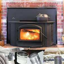 rutland fireplace insert insulation cover