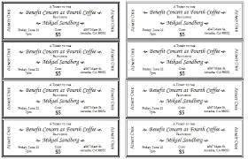 Microsoft Word Ticket Templates Amazing Ticket Designs Templates Event Ticket Template Templates For