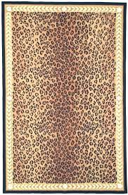 animal print area rugs leopard rug antelope coffee round