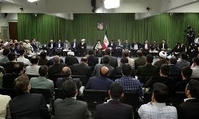 Image result for رهبر انقلاب در دیدار جمعی از شاعران و استادان زبان و ادب پارسی