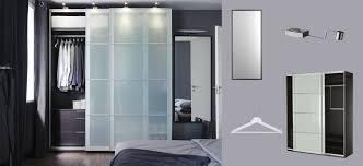 ikea bedroom closets inspirational pax black brown wardrobe with sekken frosted glass sliding doors