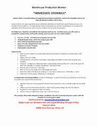 sample warehouse resume. Sample Resume for Picker Packer Unique Warehouse Worker Resume