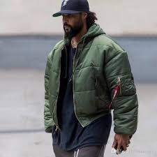 17fw Vetements X Alpha Industries Ma1 Bomber Thick Jackets Two Sided Outerwear Oversized With A Detachable Couple Casual Jackets Hfxyjk012 Black Coats