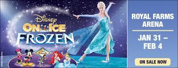 Royal Farms Arena Seating Chart Disney On Ice Disney On Ice Presents Frozen Royal Farms Arena