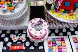 Karas Party Ideas Modern Rainbow Mickey Mouse Clubhouse Birthday Party
