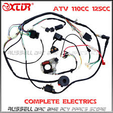 wiring harness also scooter stator coil wiring diagram besides 2003 atv quad wiring harness 50cc 70cc 110cc 125cc ignition coil cdi stator