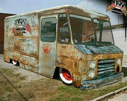 Patina Bread Truck Project Shop Truck Step Van Trucks Rat Rod Cars