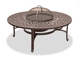 orleans 48 round firepit coffee table