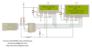 serial wire diagram serial automotive wiring diagrams pic12f683 lcd display serial wire diagram pic12f683 lcd display
