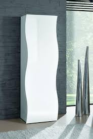 furniture for entrance hall. Onda, Modern Entrance Hall Wardrobe In White Gloss Finish Furniture For