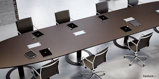 long office table. multipli ceo long leather meeting table office a