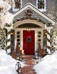 Outdoor Christmas Decoration Festive Ideas For Outdoor Christmas Decorations