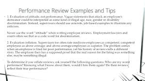 Examples Of Performance Review 2 Sandwich Your Negative Comments Annual Review Examples