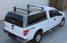 ALUMINUM LADDER RACKS for Pickup Truck Topper Camper Shell Van Roof ...