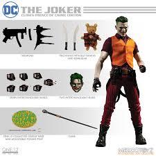 One-12 Collective DC Joker Clown Prince Of Crime Edition Mezco Toyz