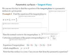 3 parametric