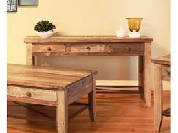 coffee table sofa table pottery barn reclaimed wood salvaged coffee west elm emmerson high top console tabl