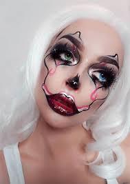 makeup ideas artsy clown makeup for