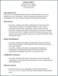 Example Of A Great Resume Resume Layout Com