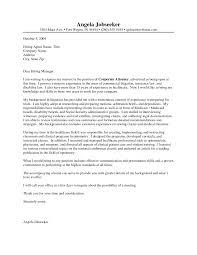 Litigation Attorney Resume Cover Letter Elegant 100 Samples