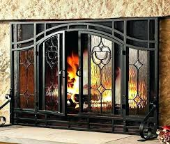 extra large fireplace screen screens tall with decor 1 rh theboxtc com large fireplace screens