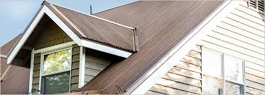painted rusted roofing
