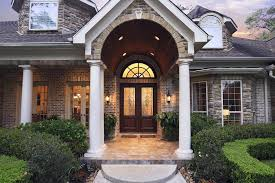 Brilliant Elegant Double Front Doors Door Inspiration Idea And Recessed Throughout Decor