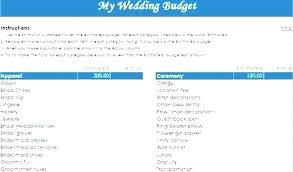 wedding budget template for excel wedding budget template excel wedding budget template download by
