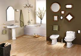 fabulous wooden flooring design ideas in contemporary bathroom completed with bathroom lighting fixtures and mirrors decorations bathroom lighting fixtures ideas