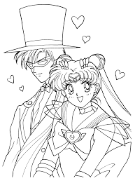 Free Sailormoon Coloring Page Sailormoon Coloring