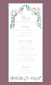 design templates for invitations breakfast menu choice cards templates invitation printing staples