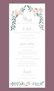 design templates for invitations breakfast menu choice cards templates invitation printing staples