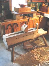 shaving horse for sale. my original bowl horse in the workshop shaving for sale