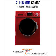 All-in-one 1200 RPM Compact Combo Washer Dryer ...