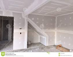 drywall installation project