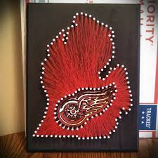 How To Do String Art 20 X 20 Michigan State Spartans String Art Nikisheartstrings