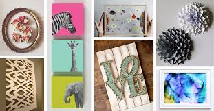 Hang a gallery wall of thrift store finds, cover the walls in patterned paper, or put antiques collections on display—there are countless ways to show off your personality and bring a boring living room to life. 36 Best Diy Wall Art Ideas Designs And Decorations For 2021