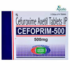 CEFOPRIM 500MG TABLET Price, Uses, Side Effects, Composition - Apollo  Pharmacy