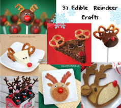 Rudolph The Red Nose Reindeer Candy Bars  Fun Christmas CandyEdible Christmas Craft Ideas